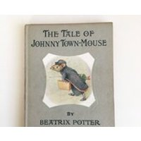 The Tale of Johnny TownMouse by Beatrix Potter  vintage childrens book excellent condition - Beatrix Potter Gifts