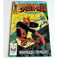 1981 Marvel Comic Peter Parker SPIDER MAN 58 Near Mint Condition 9.4 - Spider Man Gifts
