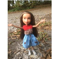 Repainted restyled bratz doll with hand made outfit. OOAK. Gift boxed. - Bratz Gifts