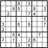 Sudoku Printable Puzzle - Sudoku Gifts