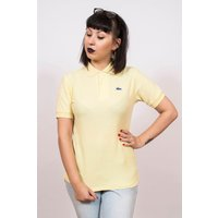 Vintage 1980s Izod Lacoste Yellow Polo Shirt 12  www.brickvintage.com - Polo Gifts