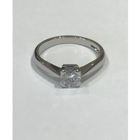 A 0.55ct Platinum and Diamond Engagement Ring - Engagement Ring Gifts