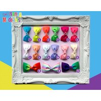 Build Your Own Bow Box  MultiColoured Small Tux Layered Bows - Build Your Own Gifts