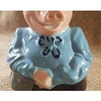 Vintage Wade NatWest Piggy Bank Money Box Lady Hilary! - Money Gifts