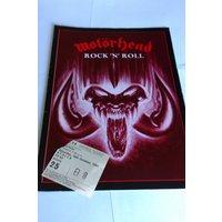 Signed Motorhead Rock n Roll tour programme 87 - Motorhead Gifts