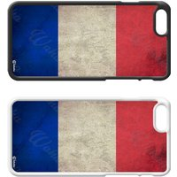 Flags of the World Plastic Phone Case iPhone 5 SE 6 7 8 Plus Galaxy J5 S5 S6 S7 S8 Edge Note Xperia iPad Air Mini 2 3 4 No.06 France French - Ipad Gifts
