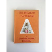 The Tailor of Gloucester by Beatrix Potter  vintage childrens book excellent condition - Beatrix Potter Gifts
