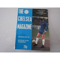 1973/74 Chelsea Original Official Football Soccer Supporters Club Handbook/Yearbook Peter Osgood Stamford Bridge Dave Sexton Charlie Cooke - Chelsea Gifts