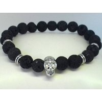 Aromatherapy Jewelry, Aromatherapy Bracelet, Lava Stone Diffuser Bracelet, Essential Oil Diffuser Bracelet, Mala Bracelet CUSTOM MADE to Fit - Aromatherapy Gifts