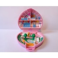 1989 Polly Pocket Pollys Country Cottage Compact Play Set. (Complete). Early Polly Pocket Sets. Toys For Girls. Retro Toys. Polly Pocket. - Polly Pocket Gifts