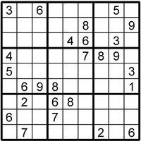 Sudoku Puzzle - Sudoku Gifts