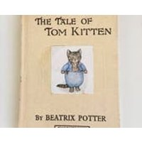 The Tale of Tom Kitten by Beatrix Potter  vintage childrens book excellent condition - Beatrix Potter Gifts