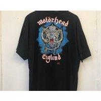 Vintage Motorhead 90s 1991 Born to Lose Printed in 1991 Rock Band Concert Tee Tshirt - Motorhead Gifts