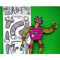 Robot  Split Pin Puppet  Craft Pack  Robot  Activity  Christmas Gift  Craft - Activity Gifts