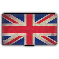 Flags of the World Leather Folio Wallet Phone Case iPhone 4 5 SE 6 7 8 X Plus Galaxy S6 S7 S8 Edge iPad Air Mini Pro New No.01 Union Jack UK - Ipad Gifts