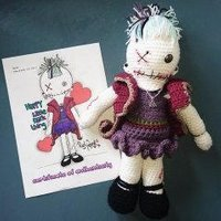 Voodoo doll with certificate of autenticity - Voodoo Doll Gifts