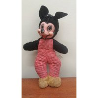 Rare 1930s Semco Minnie Mouse Plush Soft Toy - Soft Toy Gifts