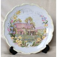 Royal Albert 1984 Collectors Spring plate from the Cottage Garden Series, perfect Christmas present, cottage garden seriesRoyal Albert - Garden Gifts