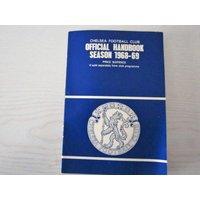 196869 Chelsea Original Official Football Soccer Handbook/Yearbook Stamford Bridge - Chelsea Gifts