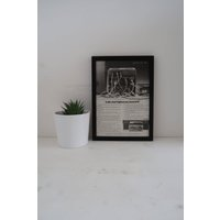 Sony Vintage Framed Advert, Sony Hi Fi HMK 40 Old Fashioned Poster, Unique Sentimental Gift Him Grand Dad, Wall Decor Office Man Cave - Sentimental Gifts