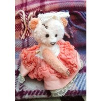 Angelina  Artist Bear, Collectible Bear, Vintage Toy - Artist Gifts