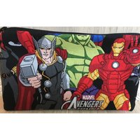 Marvel Thor and Iron Man print fabric coin purse - Iron Man Gifts