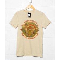 The Adventures of Magic Mushroom  Retro 70s / 80s T shirt  Steven Rhodes. - Mushroom Gifts