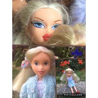 Beautiful repainted bratz doll, makeover/OOAK. Gift boxed, hand made clothes. - Bratz Gifts