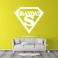 Grandad Wooden Quote, Wood Sign, Wood Quote, Wood Hanging, Family Decoration - Grandad Gifts