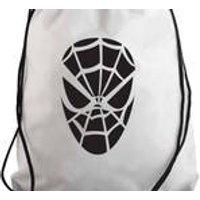 Inspired Spider Man Hand Made Gym Bag ,Draw string bag,P.E Bag,Back Pack Bag. Yoga Bag.Perfect Gift Item. - Spider Man Gifts