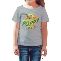Angry Birds Poppy Graphic Tornado Official Kids Tshirt (Heather Grey) - Angry Birds Gifts