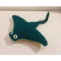Manta Ray, Mini Manta Ray, Stuffed animal, Crochet Manta Ray, Amigurumi Manta Ray, Handmade Manta Ray, Soft Toy, Gift, Toy, Birthday Gift - Soft Toy Gifts