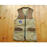 Vintage English Moleskin Suede Shooting Vest Waistcoat Gilet Medium  by JCP London - Shooting Gifts