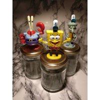 Spongebob Squarepants Jars (set of three) - Spongebob Squarepants Gifts