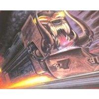 Signed Motorhead Orgasmatron calendar 87 - Motorhead Gifts