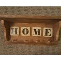 Reclaimed Coat and Hat Hall way Rack  Great Gift for Mothering Sunday or House warming - Warming Gifts