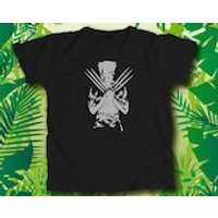 Wolverine Hand Printed Custom Vinyl T Shirt - Wolverine Gifts