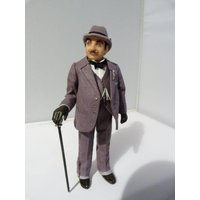1/12th scale miniature Hercule Poirot by Jo Med  RESERVED FOR RC. - Rc Gifts