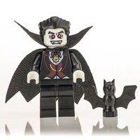 Dracula Lego Inspired Vampire Mini Figure - Vampire Gifts