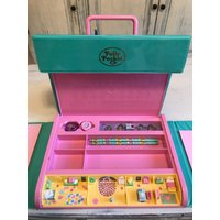 Vintage Polly Pocket Writing Case Play Set Dated 1990Complete And UnusedRARE Collectible From Bluebird Toys - Polly Pocket Gifts