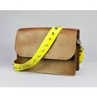 Leather Bag Strap Handmade // Vintage Statement Studded Upcycled Replacement Handbag Strap - Handbags Gifts