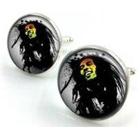 Bob Marley Cufflinks, Reggae, Jamaica, Marley, Music, Rasta gift for him,gift for men,gift for boyfriend2 - Bob Marley Gifts