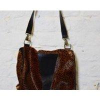 Vintage Retro 90s Pony Skin Leopard Print Shoulder Bag - Shoulder Bag Gifts