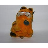 Garfield soft toy, ginger cat, marmalade, Dakin USA, 1981, tv characters, cartoon strip, 20 cms - Garfield Gifts