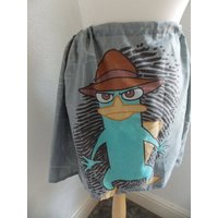 cute and quirky disney phineas and ferb handmade skirt one size - Phineas And Ferb Gifts