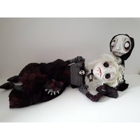 Art Dolls, Creepy, Vampire Girl and Zombie Voodoo Doll, Pair, Gothic, Ooak  Frankenstein, Home Decor, Geekery, Alternative Gift - Voodoo Doll Gifts