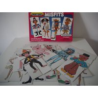 Vintage Misfits card game by spears  complete - Misfits Gifts