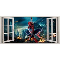 The Avengers Spider Man Childrens Room Wall Sticker Art Decal 436 - Spider Man Gifts