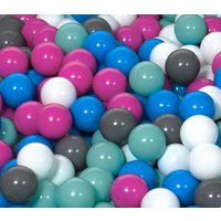 Children Plastic Balls for Ball Pits, play, Kids, Bouncy Castle 150 balls - Bouncy Gifts