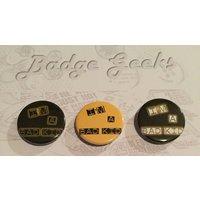 IM A BAD KID Pinback Button Badge, 1/25mm, Geeky Badge, Badge Geeks, Novelty, Fun, Gift, Yarn Subscription, Lady Gaga inspired - Lady Gaga Gifts
